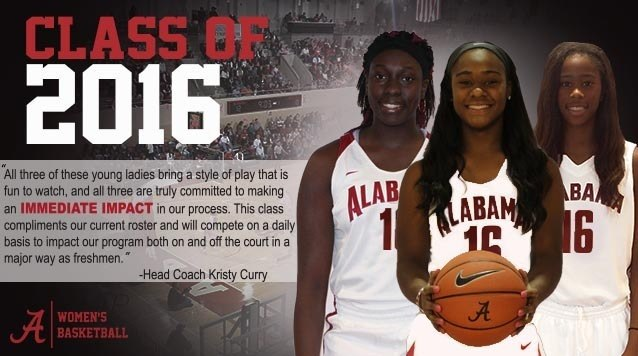 Alabama Women S Basketball Inks Three During Early Signing