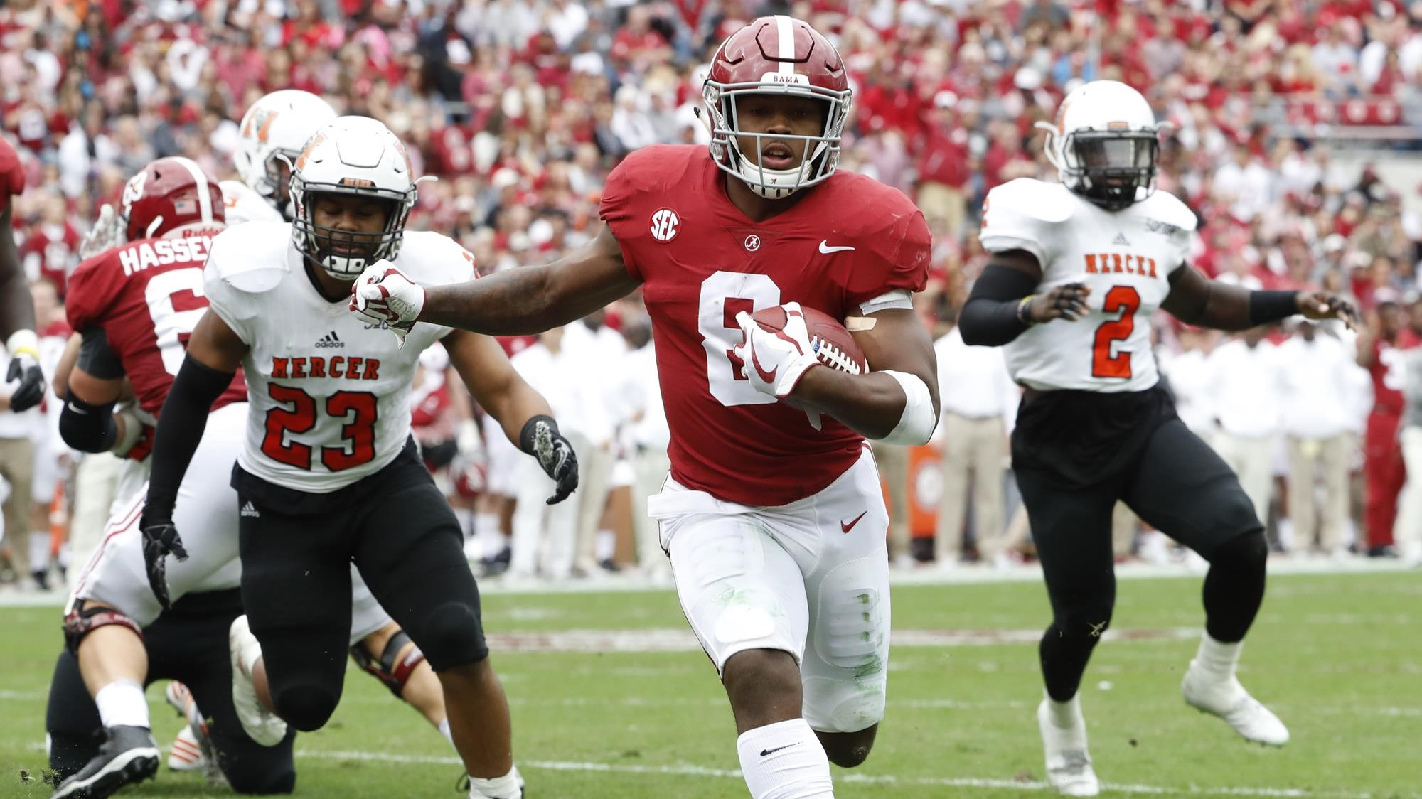 070d49014a4 Alabama Coaching Staff Recognizes Eight Players of the Week following Mercer