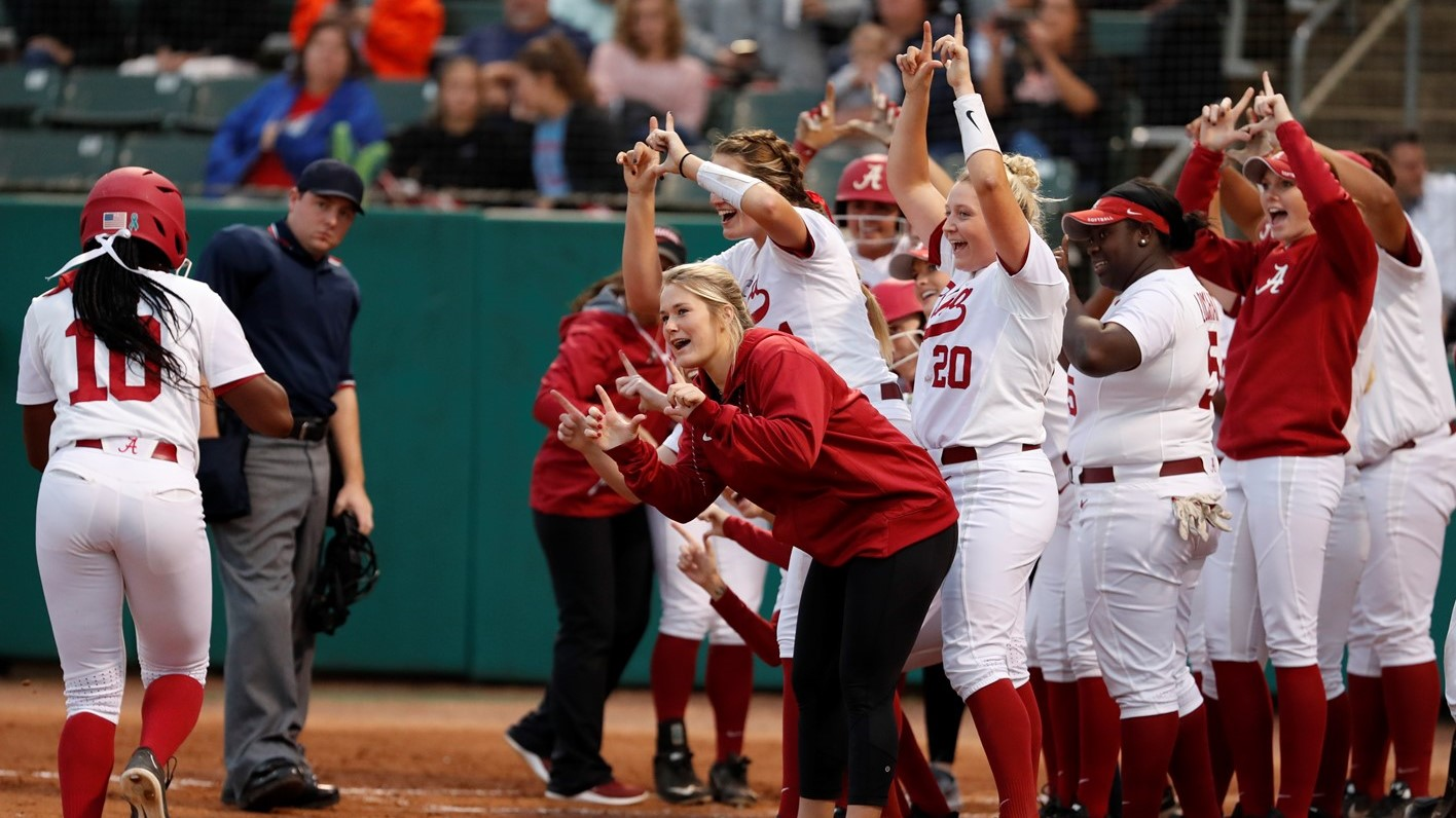 e387a7f35a0 Softball Announces 2019 Schedule - University of Alabama Athletics