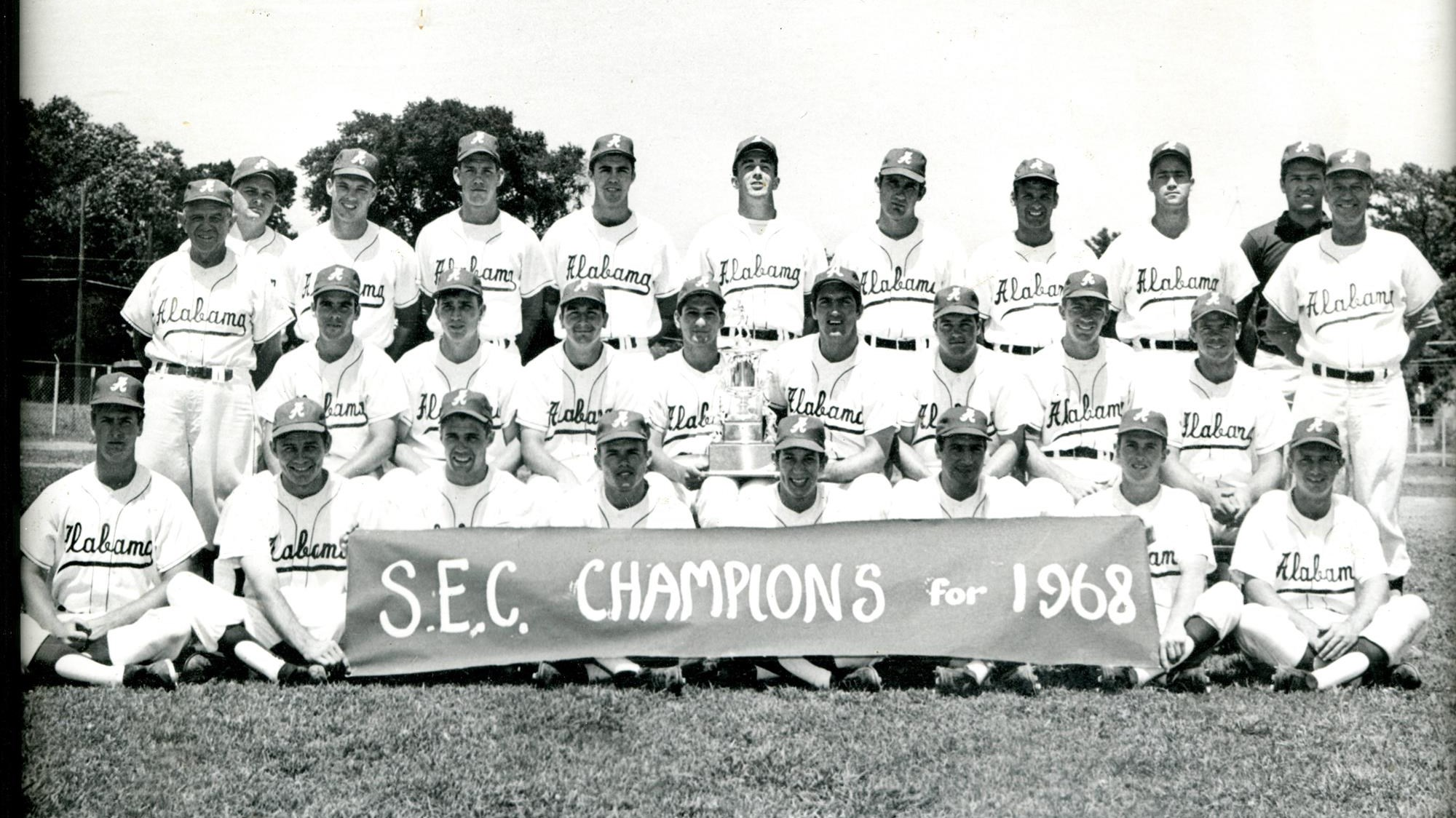 1968 Alabama Baseball Team To Be Honored At Saturdays Game Against Auburn