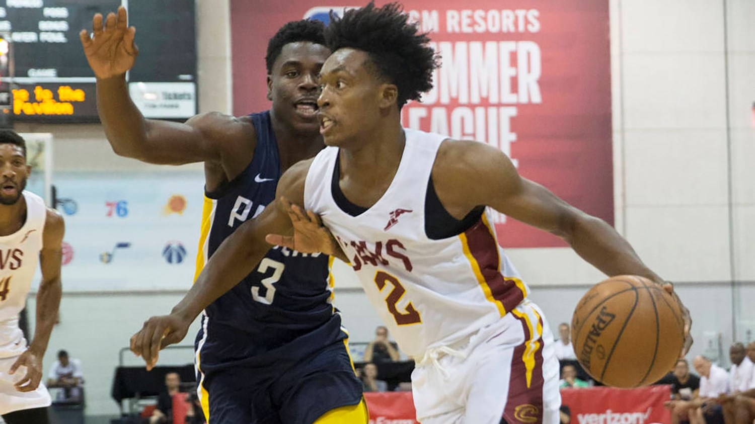 4a85229fe57a Former Alabama Guard Collin Sexton Shines in Summer League with Cavs ...
