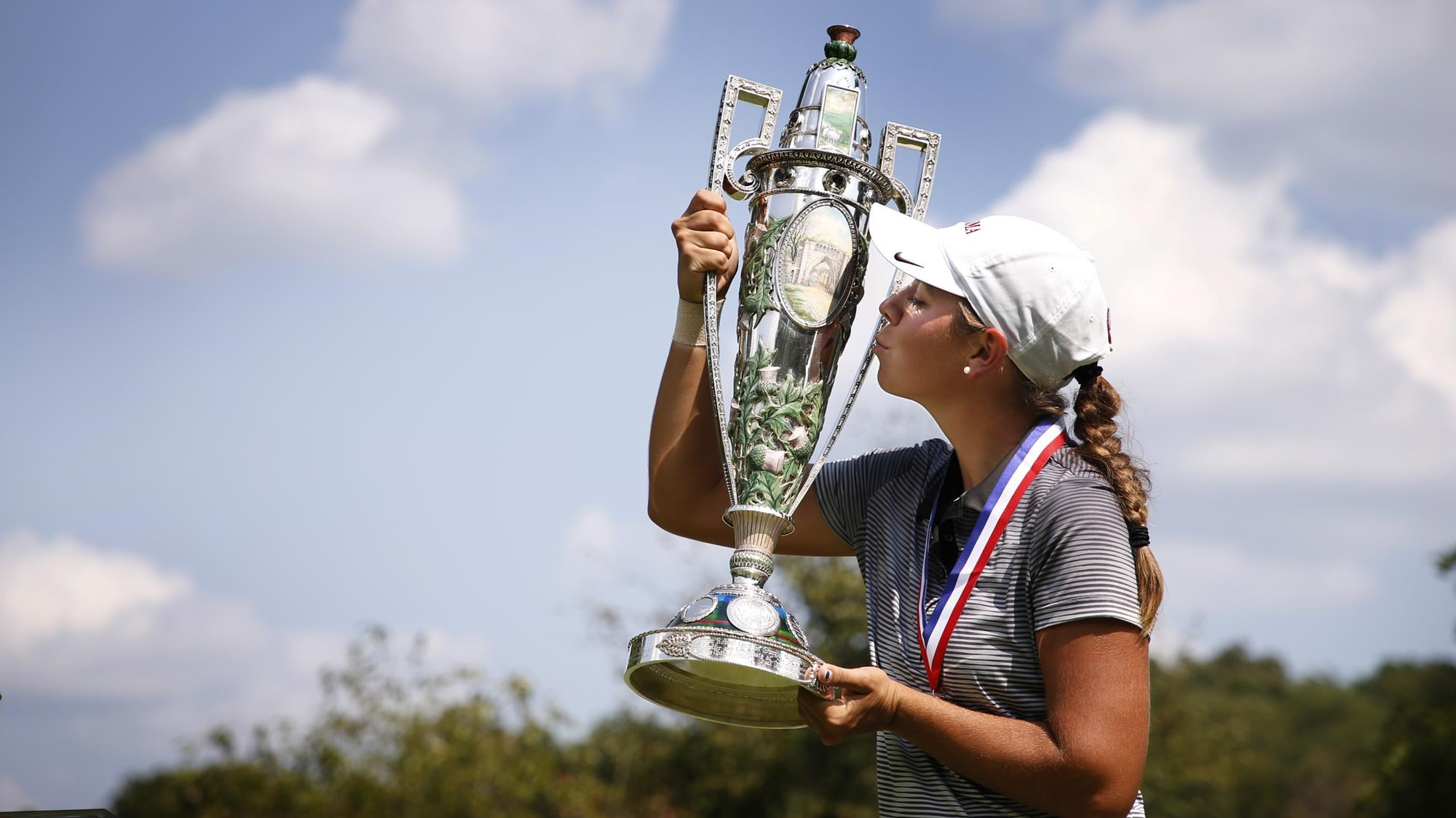 Image result for Kristen Gillman wins 2018 amateur championships