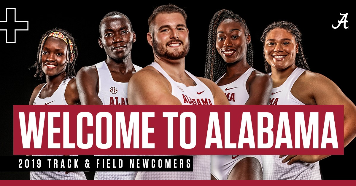 Alabama Track & Field Welcomes 25 Newcomers to its 2019