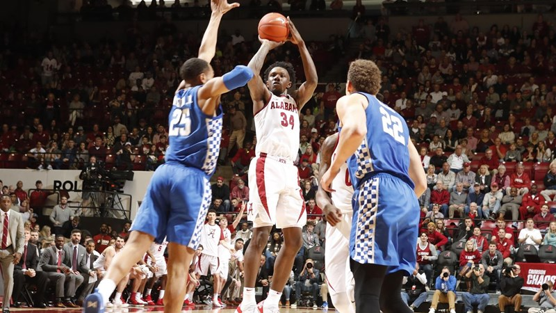 Alabama Men S Basketball Readies For Rivalry Match Up At