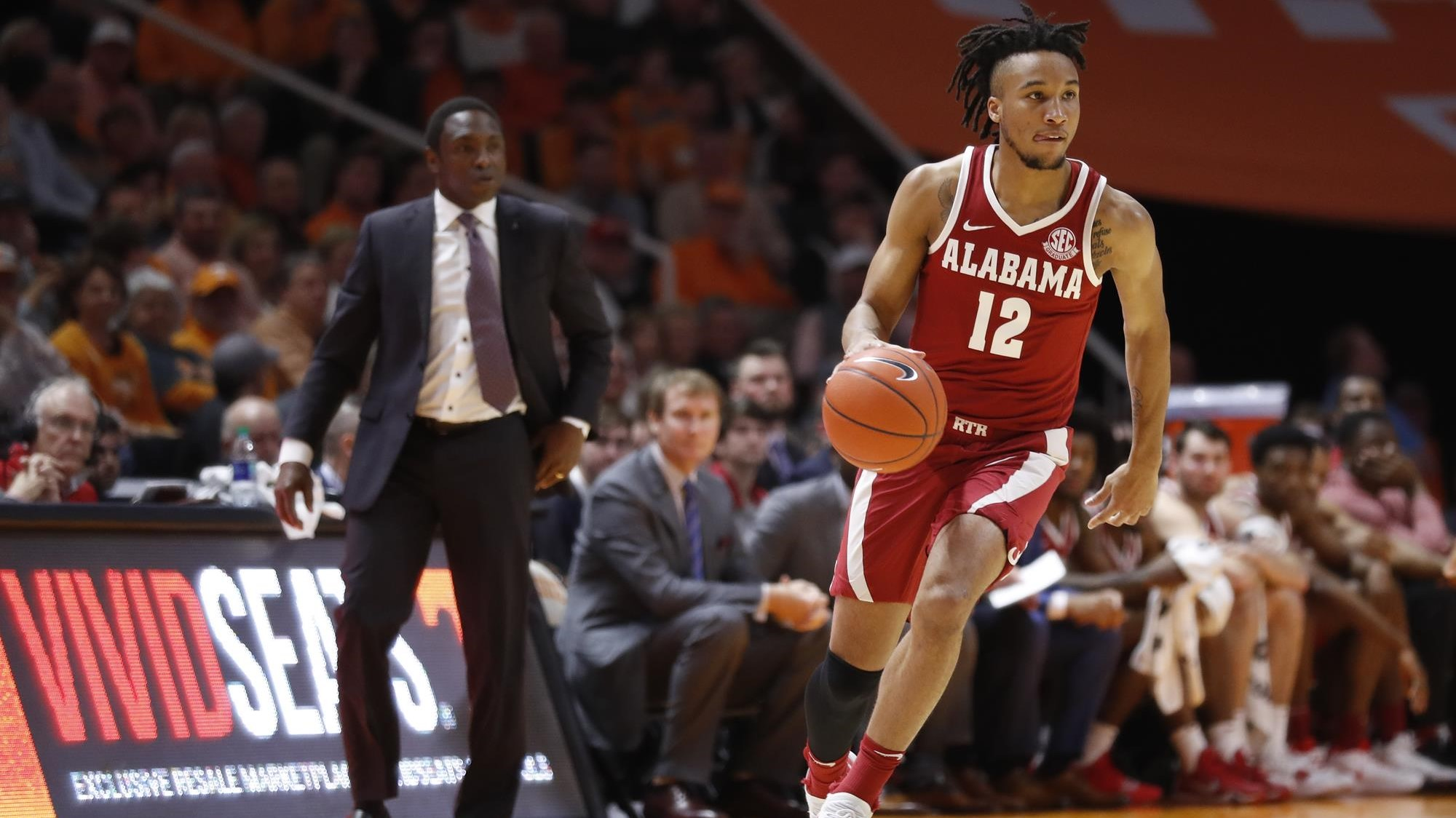 6d54765ceb5 Alabama Men s Basketball Makes Short Trek to take on Mississippi State on  Tuesday Night
