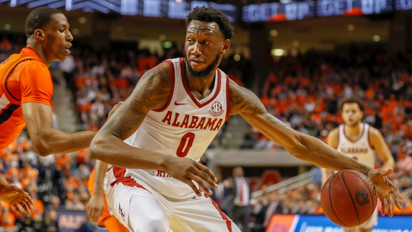 Alabama Men S Basketball Falls At Auburn 84 63 University