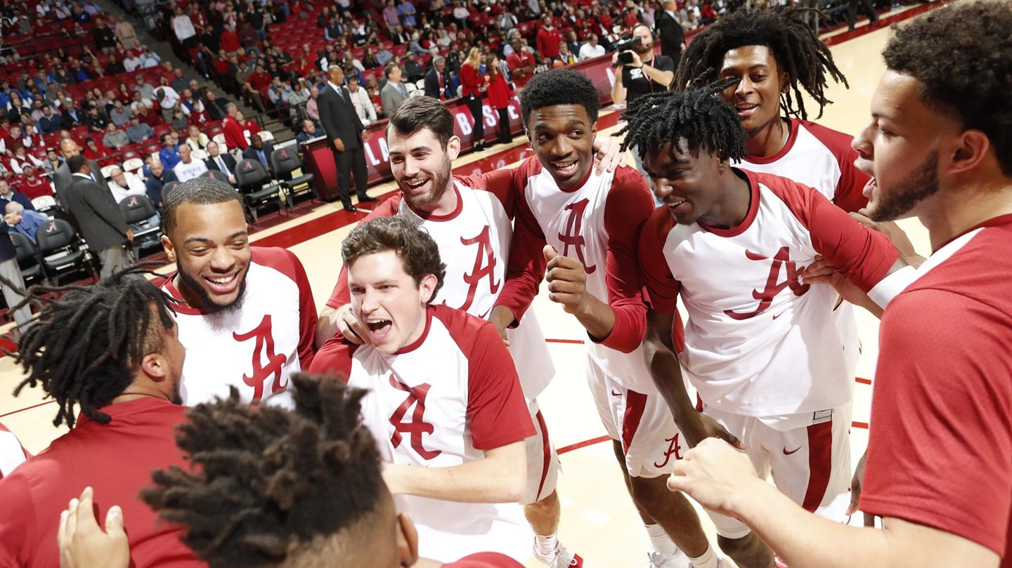 Alabama Earns A No. 1 Seed In 2019 National Invitation Tournament