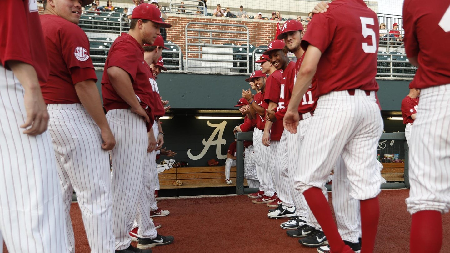 ⚾ Weekend at Home for Baseball as the Tide Welcomes Fifth-Ranked Vanderbilt